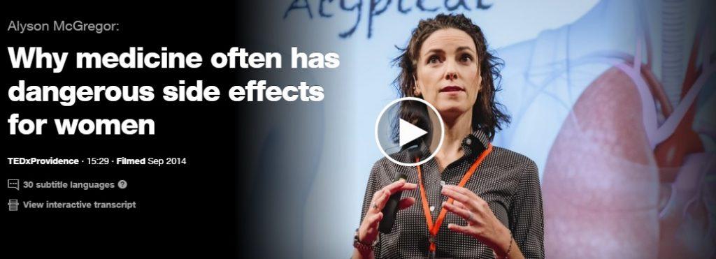 страничните ефекти от лекарствата и жените